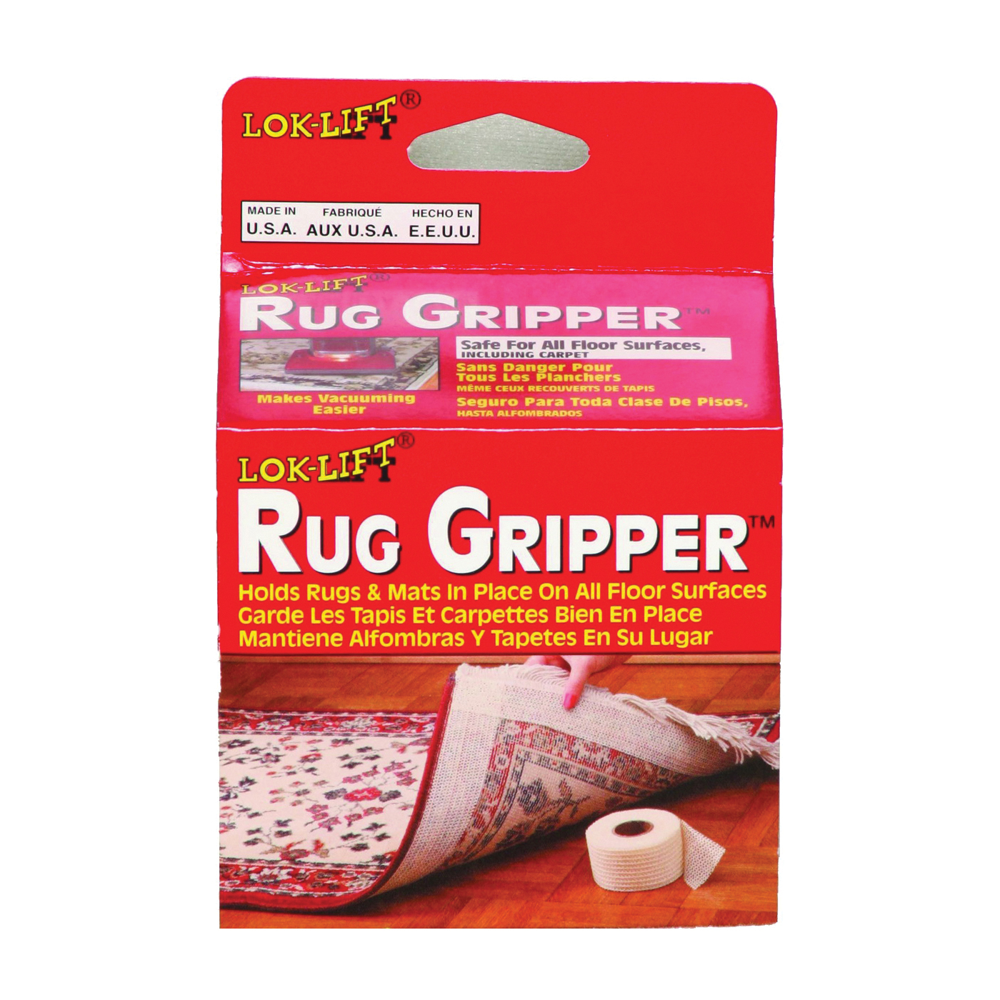 Picture of Optimum Lok Lift 2525AB Rug Gripper, 25 ft L, 2-1/2 in W, White