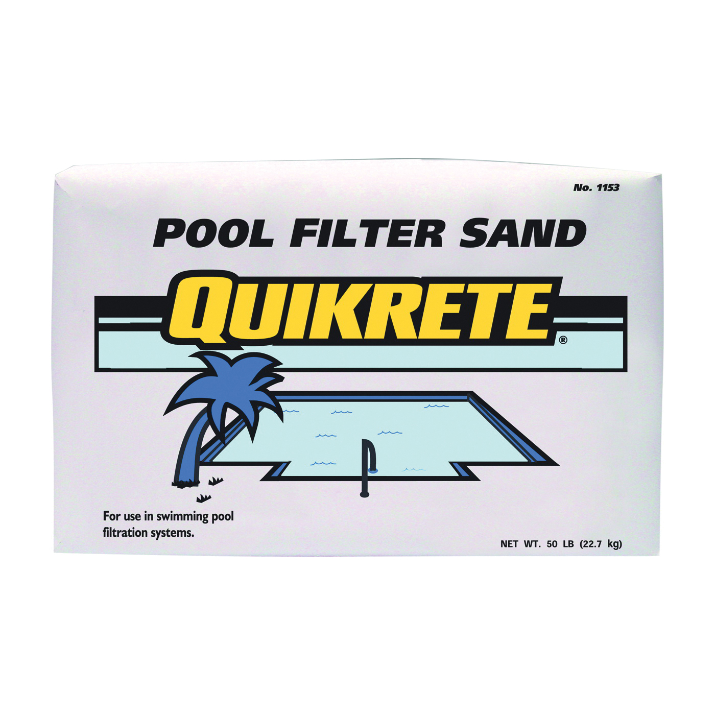 Picture of Quikrete 1153-50 Filter Sand, Tan, 50 lb Package, Bag