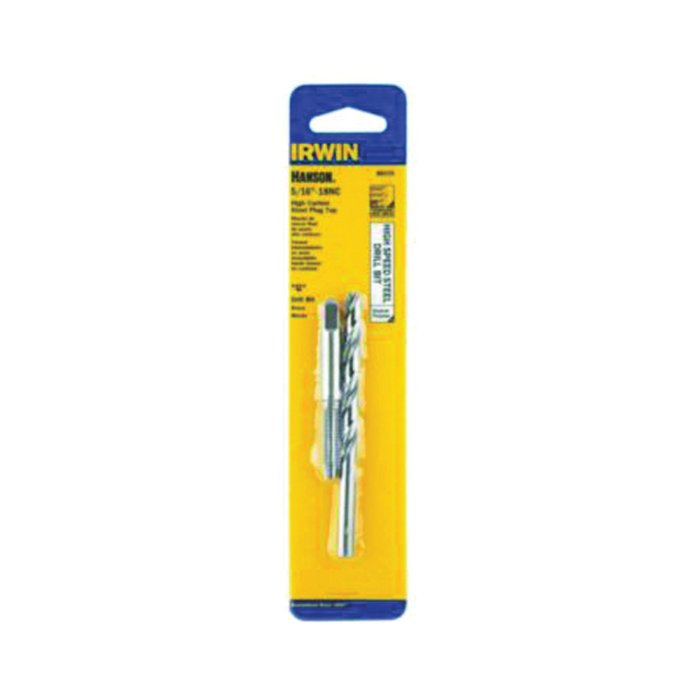 Picture of IRWIN 80235 Tap and Drill Bit Set, HCS/HSS