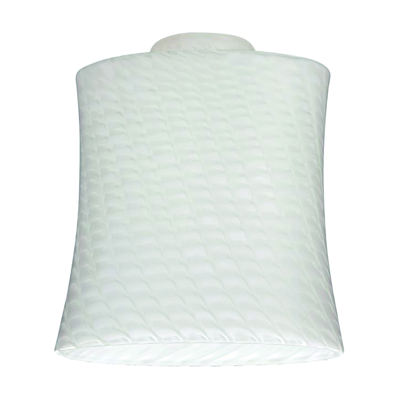 Picture of Westinghouse 8141200 Light Shade, Slightly Flared, Glass, White
