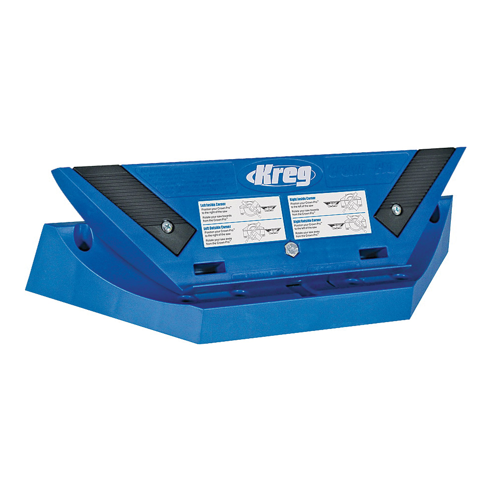 Picture of Kreg KMA2800 Crown Molding Tool, Plastic, For: Crown Molding up to 5-1/2 in W with 12 in Saw