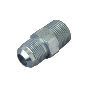 Picture of BrassCraft PSSC-64 Male Half Union, 5/8 x 3/4 in, Flare x MIP, Stainless Steel