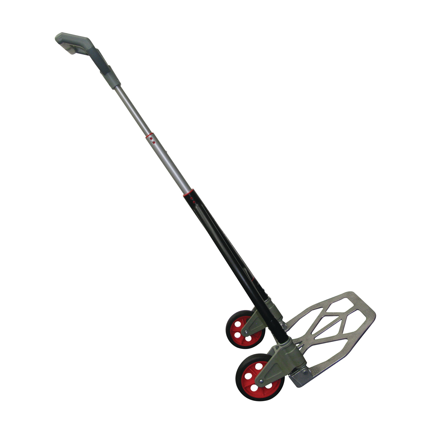 Picture of Olympia Tools PACK-N-ROLL 85-601 Hand Truck, 155 lb, 15-3/4 in OAW, 29-1/2 in OAH, 2-1/2 in OAD, Aluminum, Black