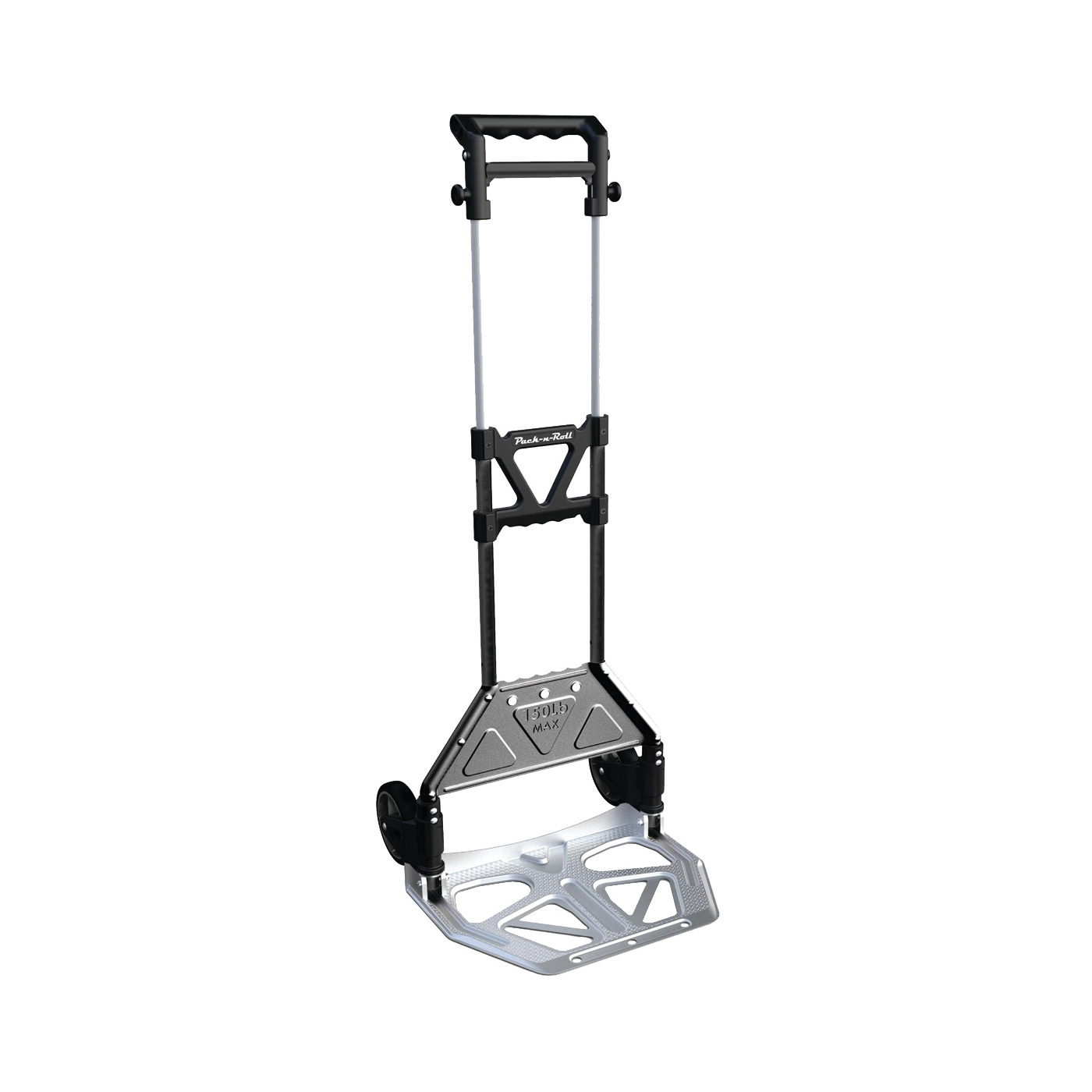 Picture of Olympia Tools PACK-N-ROLL 85-609 Folding Cart, 150 lb, 15-1/4 in OAW, 11 in OAH, Aluminum