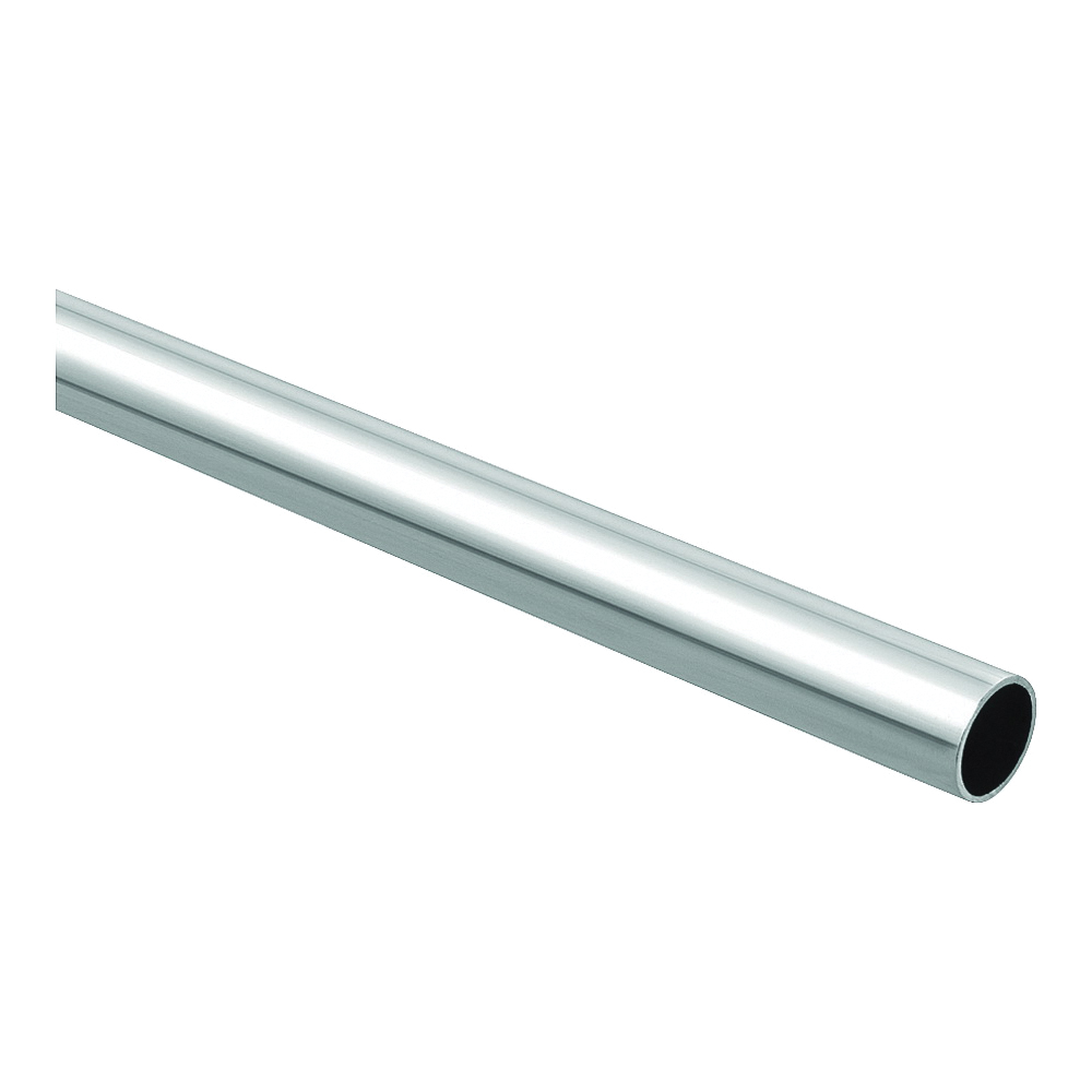 Picture of National Hardware BB8603 Series S822-095 Closet Rod, 1-5/16 in Dia, 6 ft L, Steel, Chrome