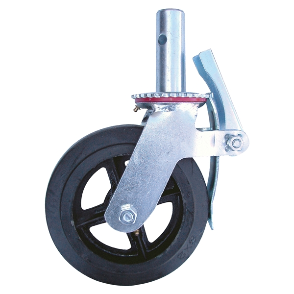 Picture of METALTECH M-MBC8 Caster, 8 in Dia Wheel, 750 lb Load