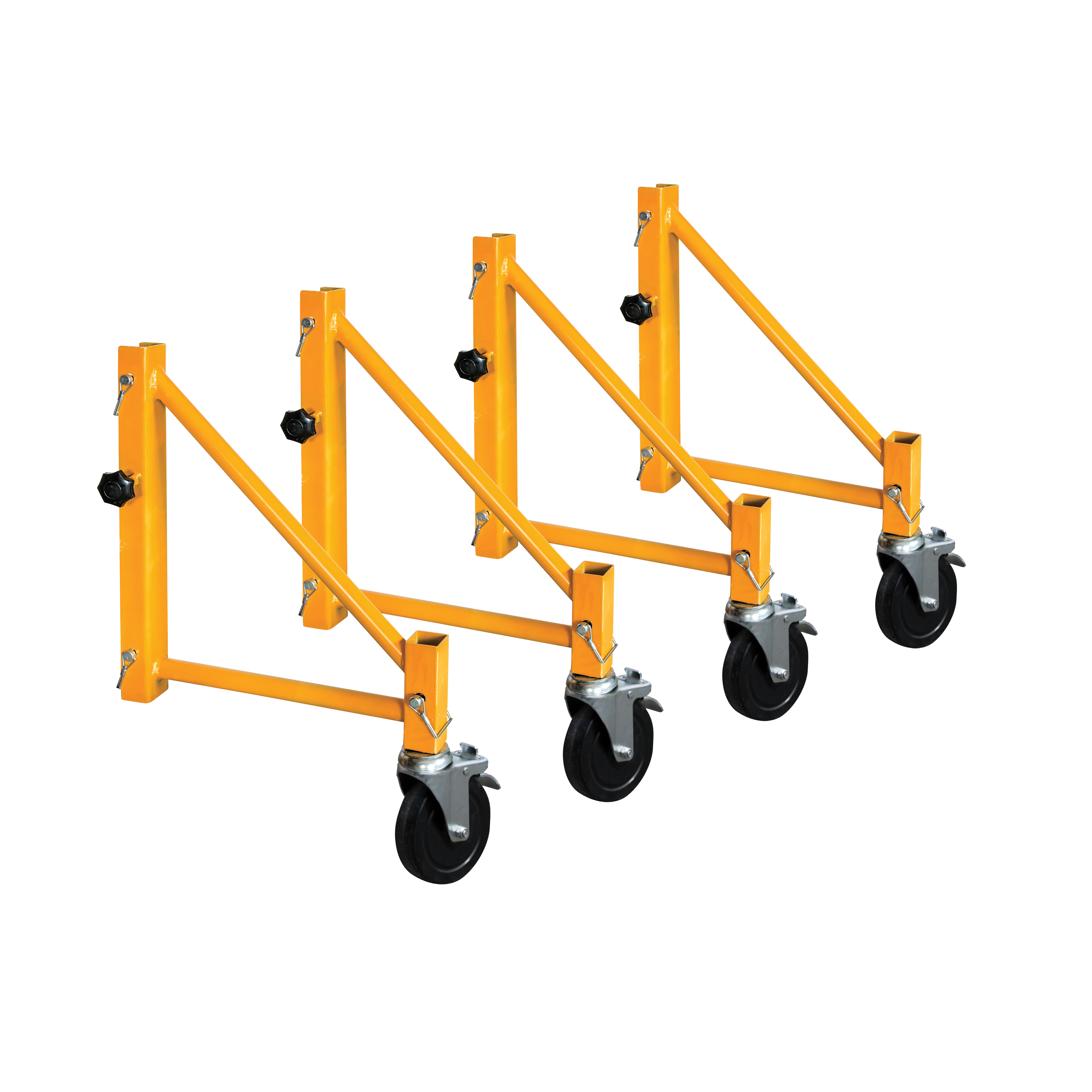 Picture of METALTECH Jobsite I-CISO4 Outrigger Set, Steel, Powder-Coated
