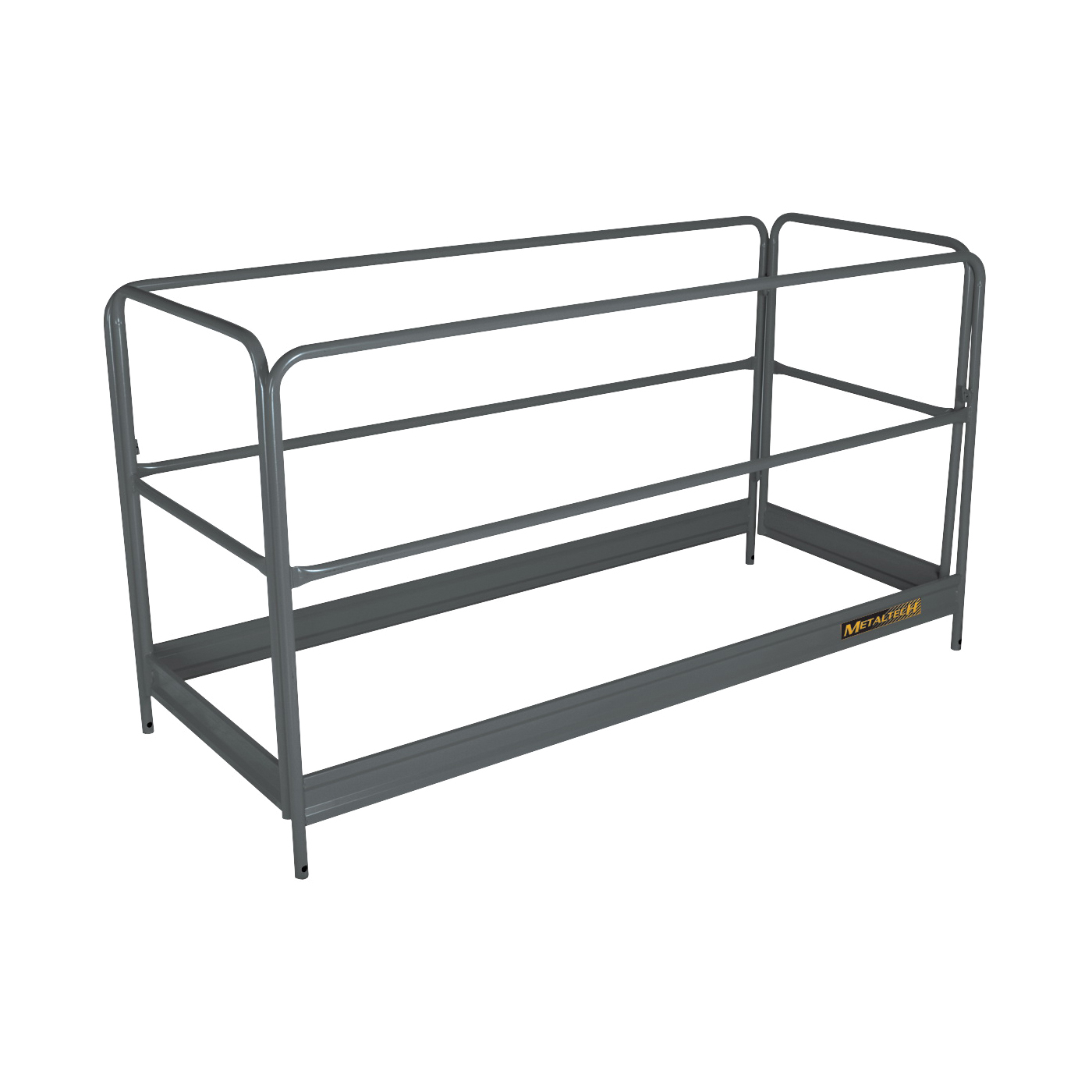 Picture of METALTECH I-BMSGR Guardrail Scaffold, Enamel, For: I-BMSS, I-CISC, I-CISCTP, I-CAISC Scaffolding Kit