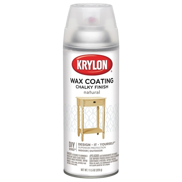 Picture of Krylon K04118000 Chalky Paint, Subtle, Natural, 11.75 oz, Aerosol Can
