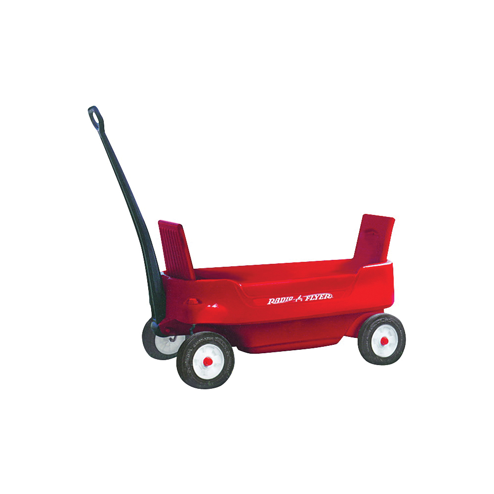 Picture of RADIO FLYER 2700 Pathfinder Wagon, 200 lb Capacity, Steel, Red
