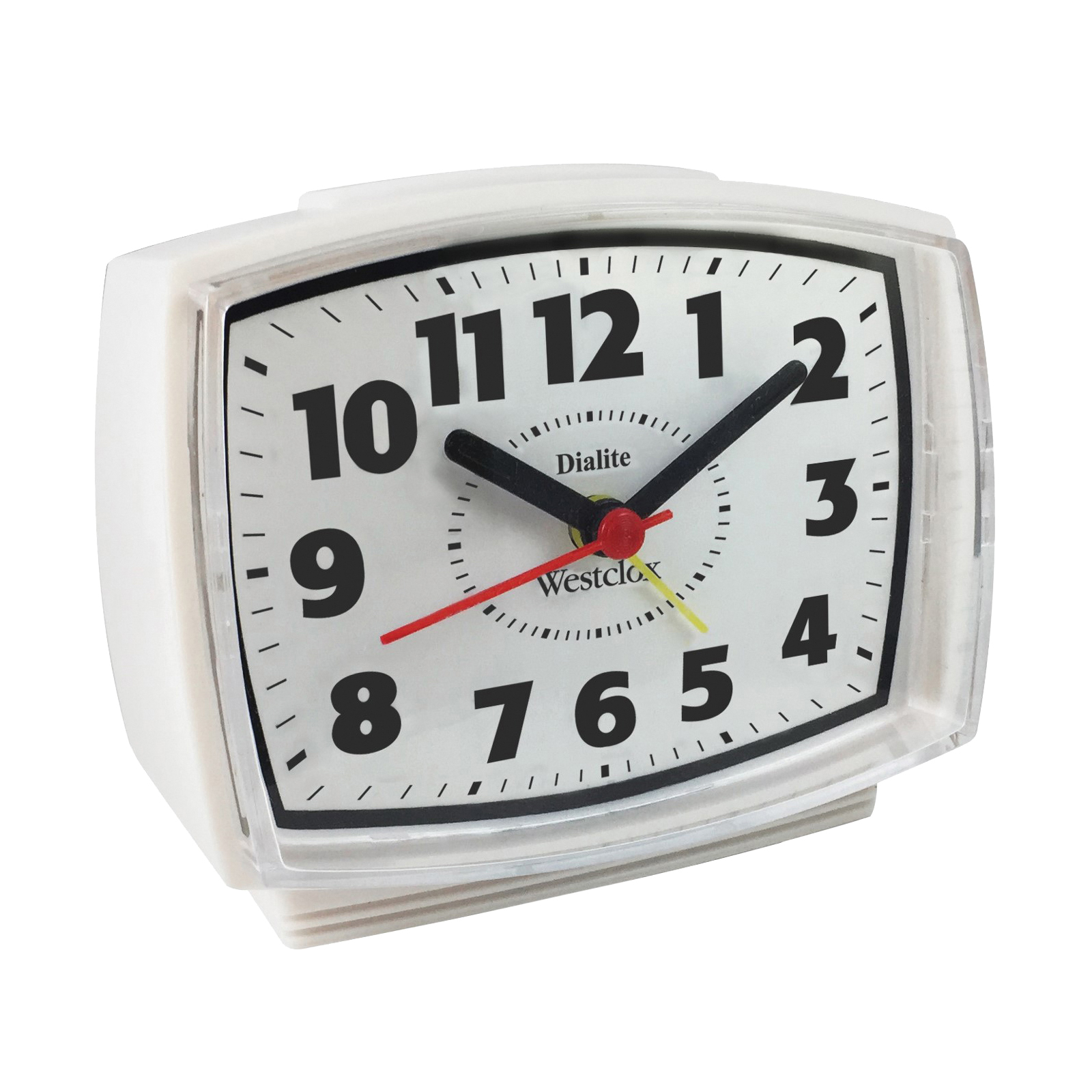 Picture of Westclox 22192A Alarm Clock, White Case