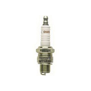 Picture of Champion QL77JC4 Spark Plug, 0.028 to 0.033 in Fill Gap, 0.551 in Thread, 0.813 in Hex, Copper