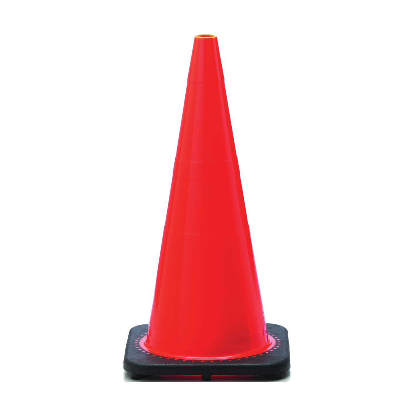 Picture of JBC Revolution RS RS70032C Traffic Safety Cone, 28 in H Cone, PVC Cone, Fluorescent Orange Cone