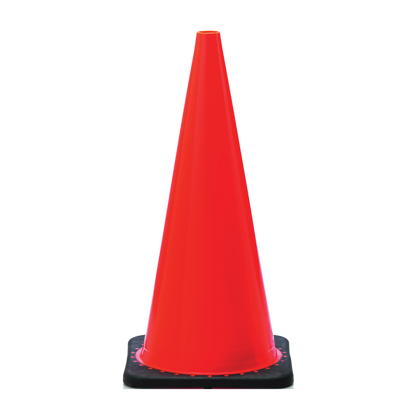 Picture of JBC Revolution RS RS70025C Traffic Safety Cone, 28 in H Cone, PVC Cone, Fluorescent Orange Cone