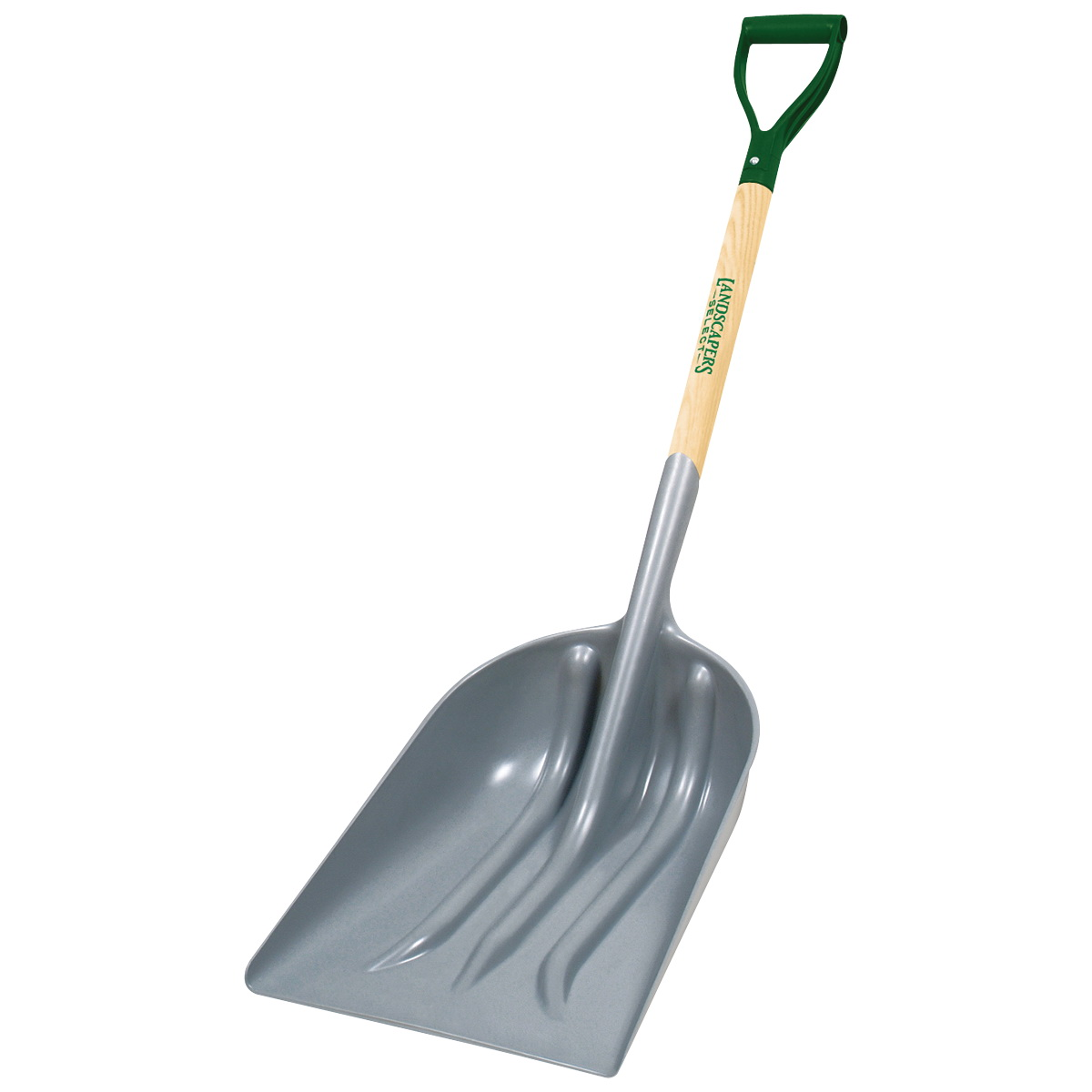 Picture of Landscapers Select 34596 PLA-12 Scoop Shovel, 14-1/4 in W Blade, 12 in L Blade, ABS Blade, Wood Handle