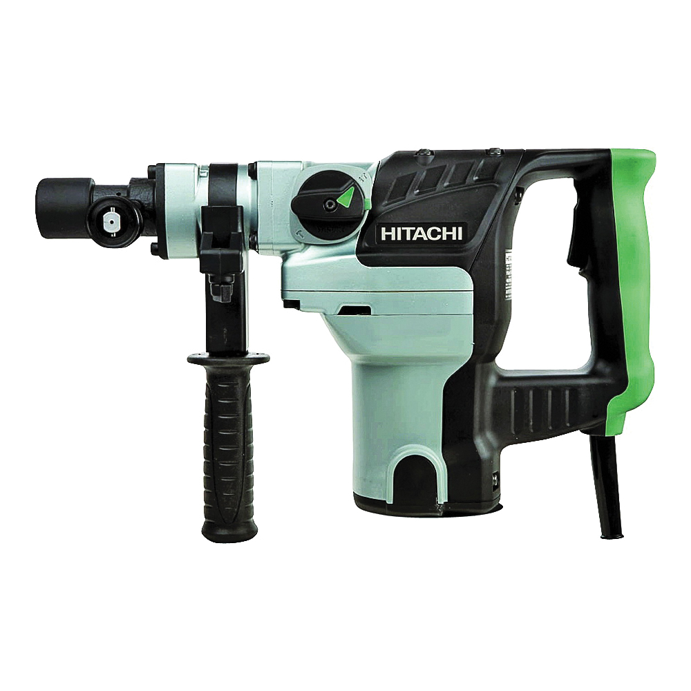 Picture of Metabo HPT DH38YE2 Rotary Hammer, 120 V, 950 W, 4-1/8 in Core Bit, 1-1/2 in Drill Bit Drilling, 1-1/2 in Chuck