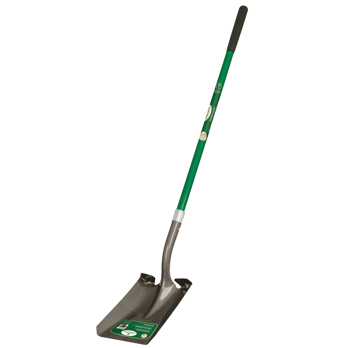 Picture of Landscapers Select 34598 Square Point Shovel, Fiberglass Handle, Ergonomic Handle, 47 in L Handle