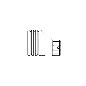 Picture of HANCOR 0314AA Pipe Reducer, 4 x 3 in, Stub