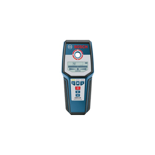 Picture of Bosch GMS 120 Multi-Wall Scanner, 9 V Battery, Up to 4-3/4 in Ferrous Metals, 3-1/8 in Non-Ferrous Metals Detection