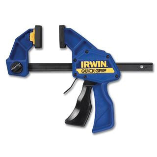 Picture of IRWIN QUICK-GRIP SL300 Series 506QCN Bar Clamp/Spreader, 300 lb, 6 in Max Opening Size, 3-1/4 in D Throat