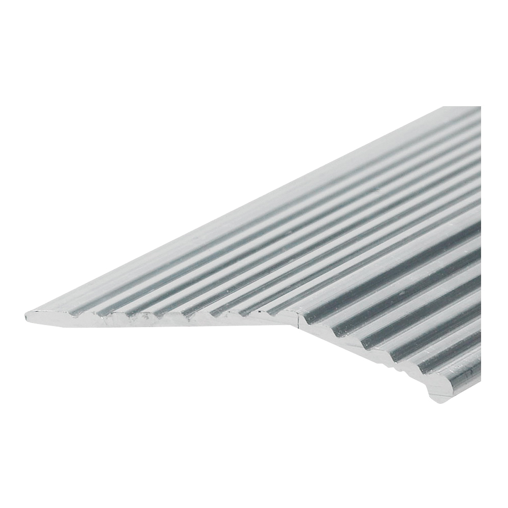 Picture of Frost King H591FS/3 Carpet Bar, 3 ft L, 1-3/8 in W, Fluted Surface, Aluminum, Silver, Satin