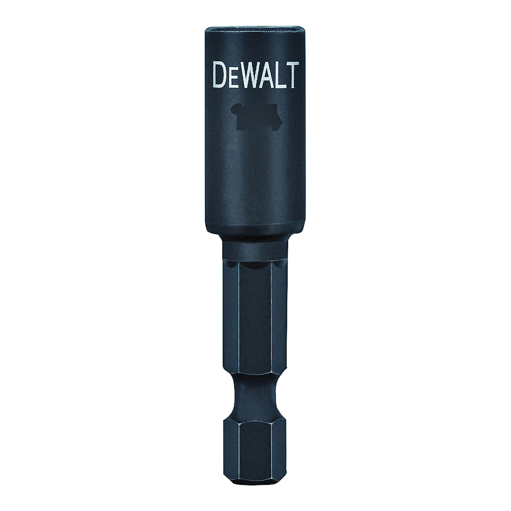 Picture of DeWALT Impact Ready DW2234IR Nut Driver, 1/2 in Drive, 2-9/16 in L, 1/4 in L Shank, Hex Shank