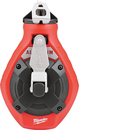 Picture of Milwaukee 48-22-3990 Fine Line Chalk Reel, 100 ft L Line, 6:1 Gear Ratio