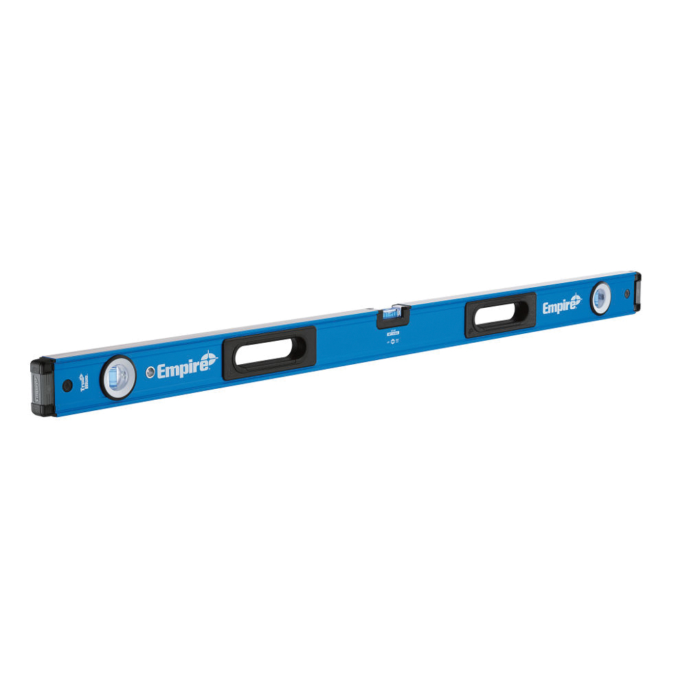 Picture of Empire True Blue E75.24 e75 Series Box Level, 24 in L, 3 -Vial, 1 -Hang Hole, Non-Magnetic, Aluminum, Blue