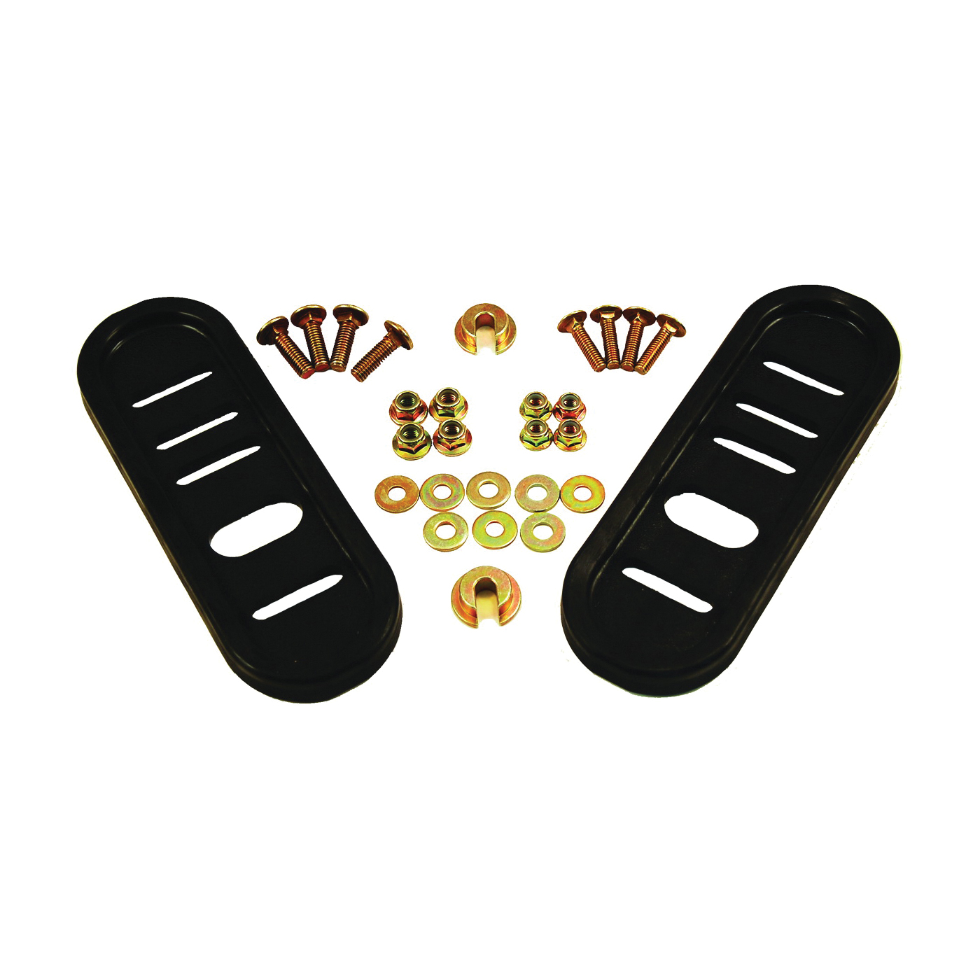 Picture of ARNOLD 490-241-0010 Slide Shoe Kit, Universal, Poly, For: Most Two-Stage Snow Throwers