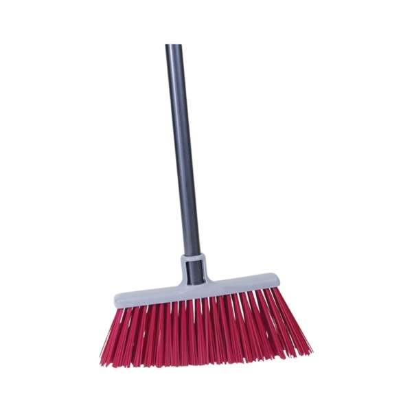 Picture of Quickie 757-6 Upright Broom, 11 in Sweep Face, Polypropylene Bristle, Steel Handle