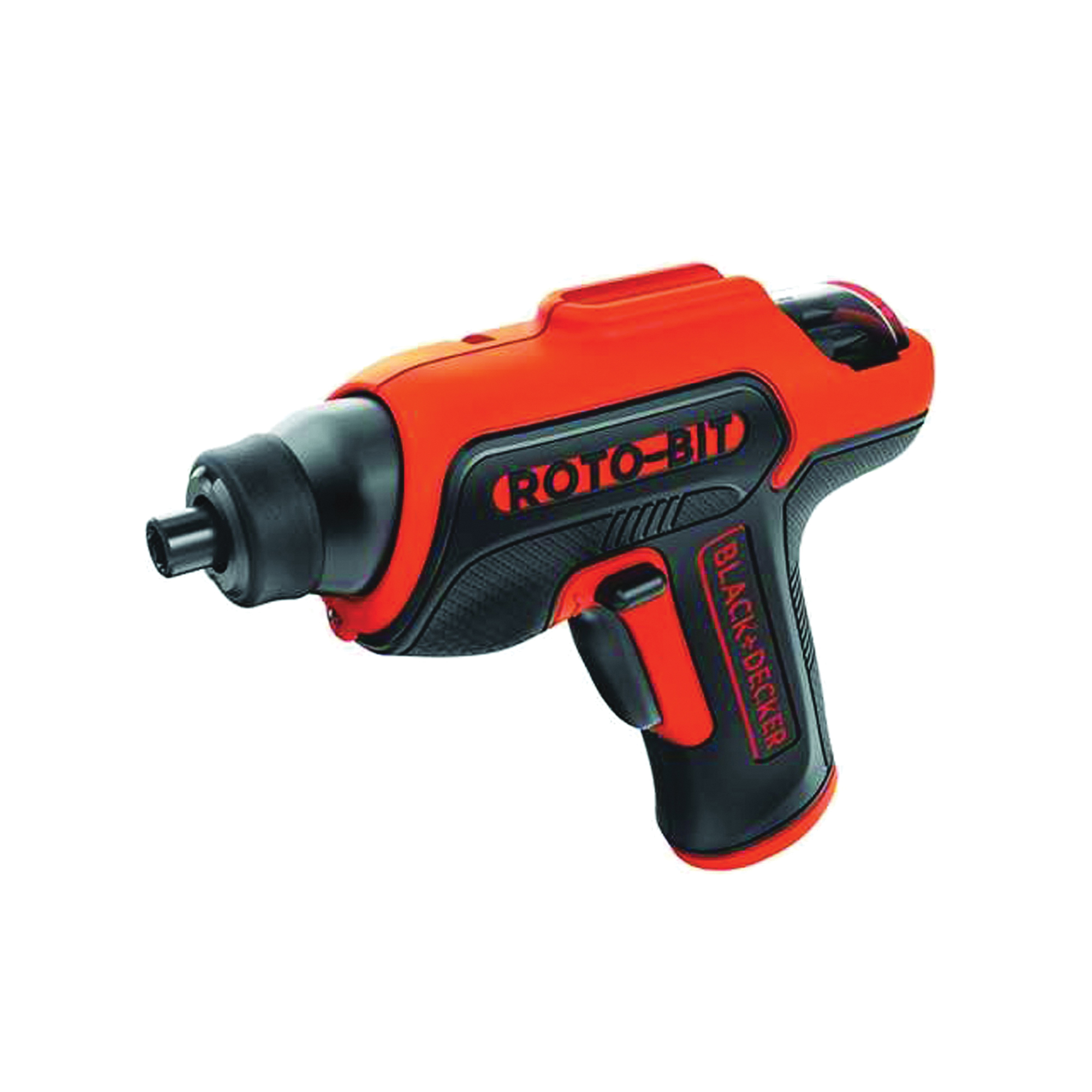 Picture of Black+Decker BDCS50C Storage Screwdriver, Bare Tool, 4 V Battery, 1.4 Ah, 3/8 in Chuck, Keyless Chuck, 40 in-lb