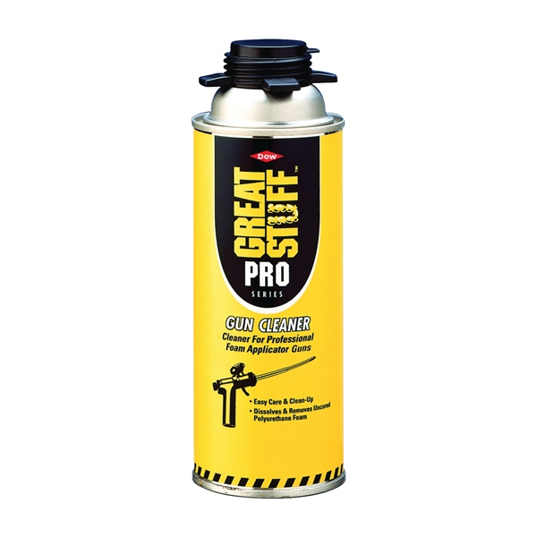 Picture of Dow GREAT STUFF PRO 259205 Tool Cleaner, Liquid, Mild, Colorless, 12 oz, Spray Can