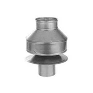 Picture of SELKIRK 198802 Anti-Downdraft Cap, 7-3/4 x 9 in Dia, Stainless Steel