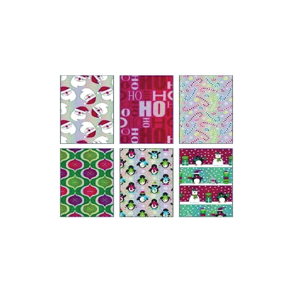 Picture of Santas Forest 68016 Gift Wrapping Paper