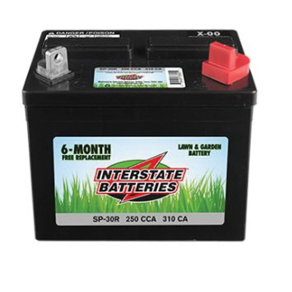 Picture of INTERSTATE BATTERIES SP-30R Lawn and Garden Battery, Lead-Acid
