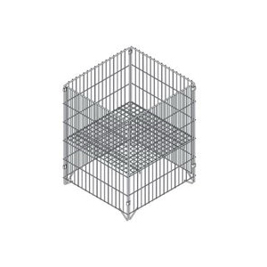 Picture of SOUTHERN IMPERIAL R40-CLDB-SQK Dump Bin, Zinc, Square