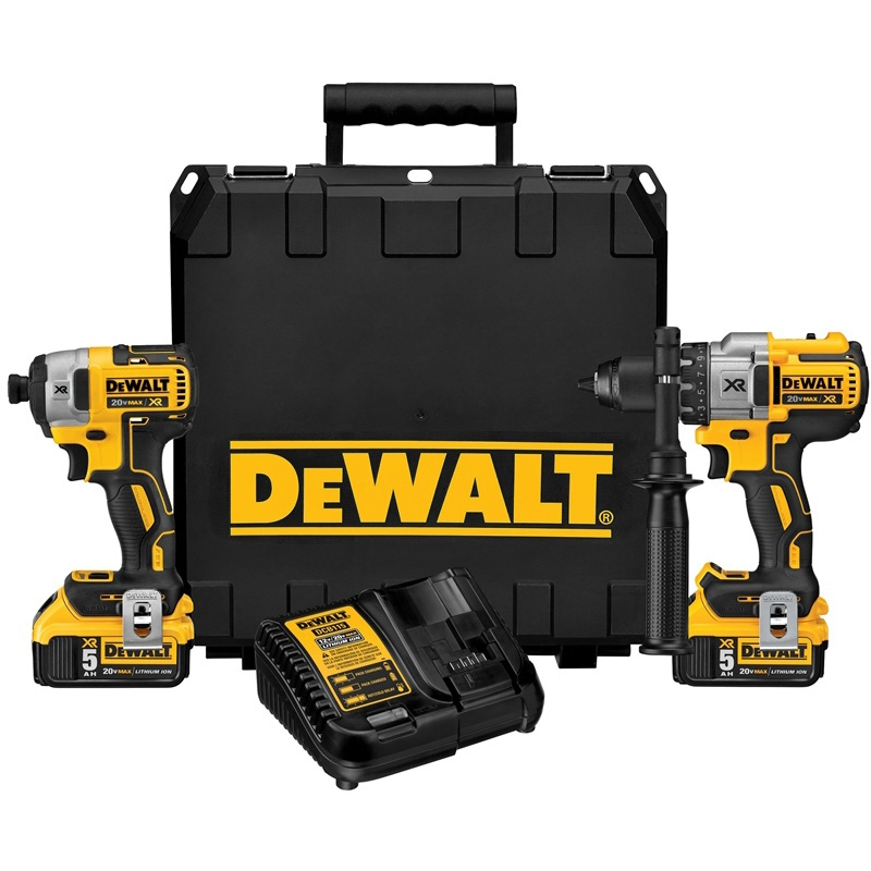 Picture of DeWALT DCK299P2 Combo Kit, 2 -Tool, Battery Included: Yes