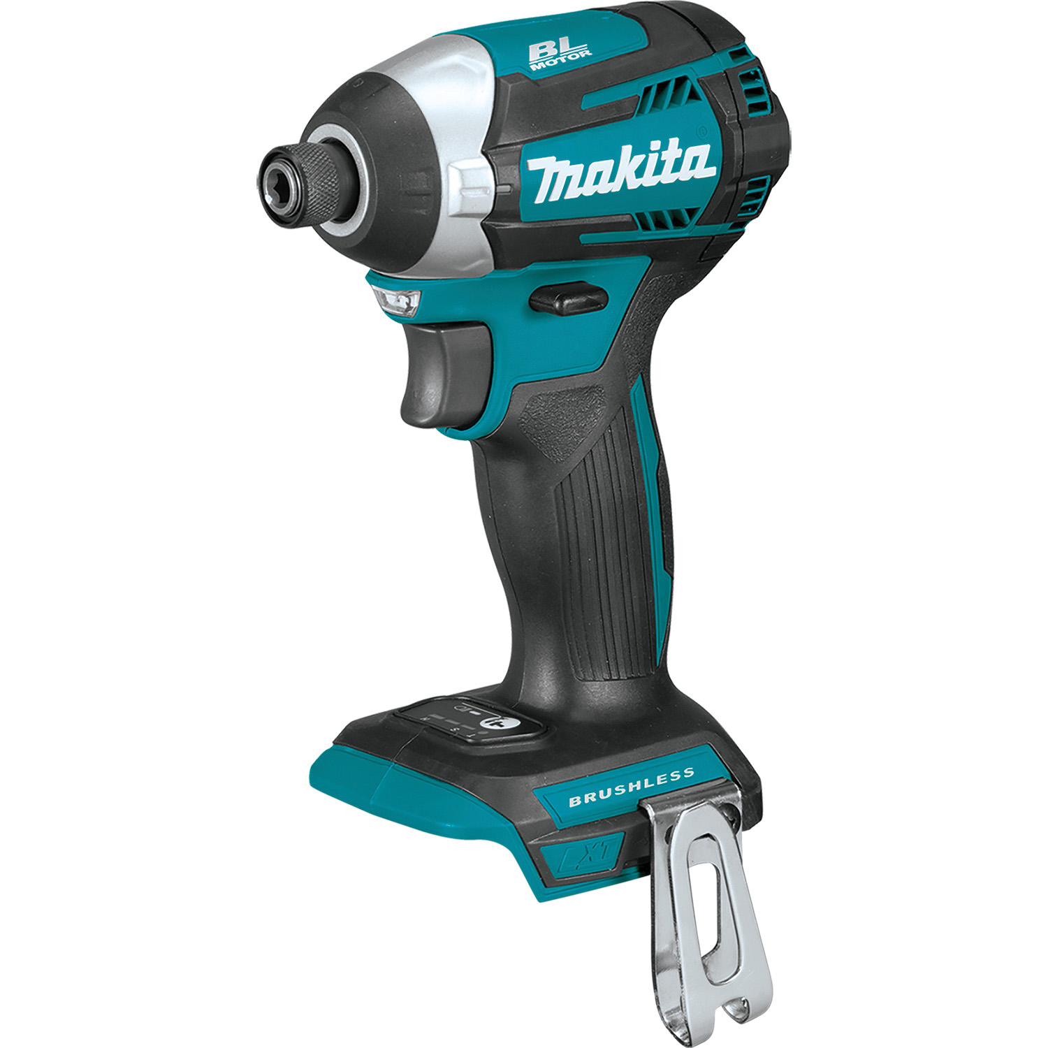Picture of Makita XDT14Z Brushless Impact Driver, Bare Tool, 18 V Battery, 1/4 in Drive, Hex Drive, 0 to 3800 ipm IPM
