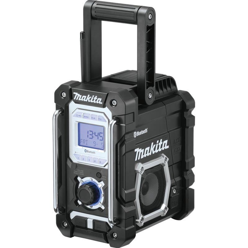 Picture of Makita XRM06B Jobsite Radio, Bare Tool, 7.2 to 18 V Battery, 5 Ah, Battery Included: No