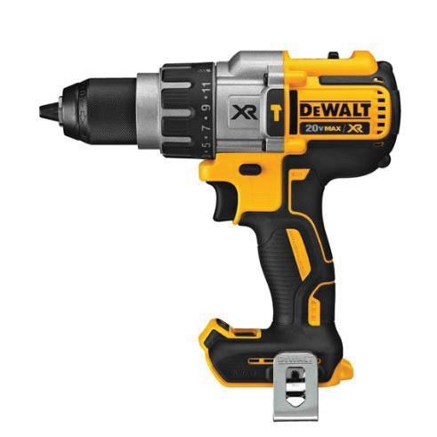 Picture of DeWALT DCD996B Brushless Hammer Drill, Bare Tool, 20 V Battery, 1/2 in Chuck, Ratcheting Chuck, 0 to 38,250 bpm BPM