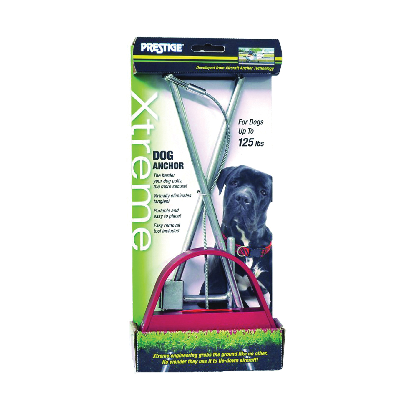Picture of Prestige Xtreme P230300099 Pet Anchor, Solid Aluminum/Steel, For: Dogs Up to 125 lb