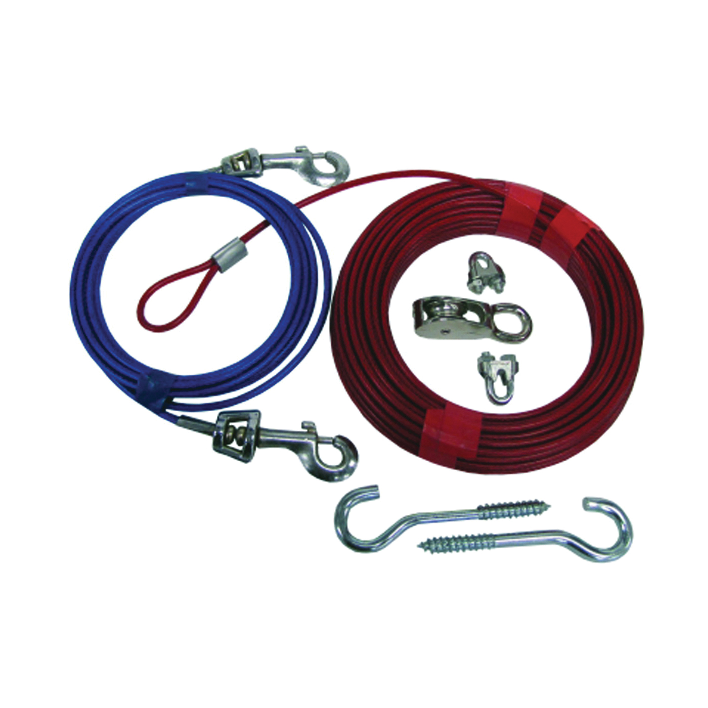 Picture of Boss Pet PDQ Q507000099 Dog Trolley System, 70 ft L Belt/Cable