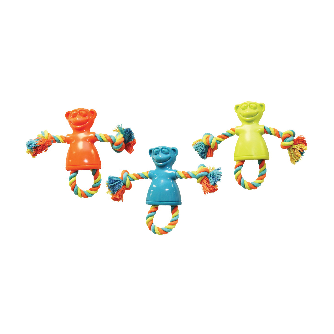 Picture of Chomper WB15501 Dog Toy, S, Monkey, Thermoplastic Rubber