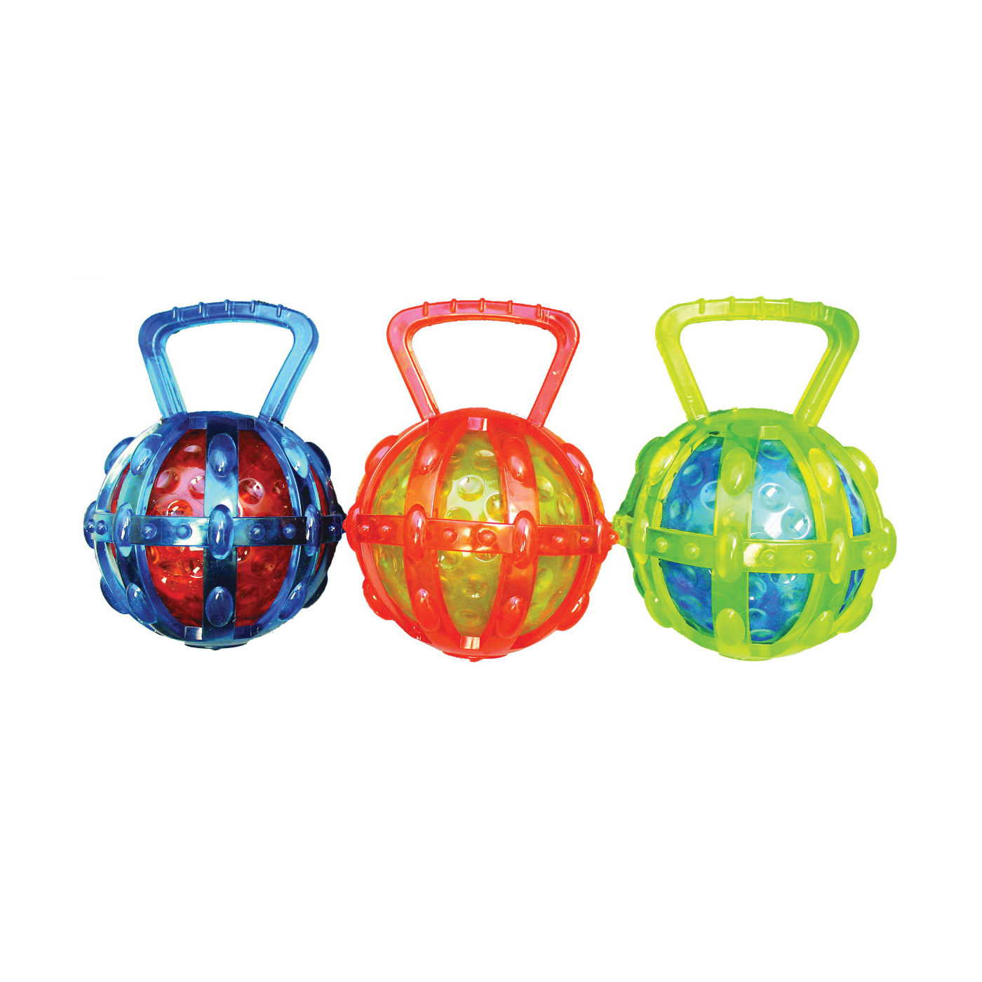 Picture of Chomper WB15519 Dog Toy, Cage, Thermoplastic Rubber