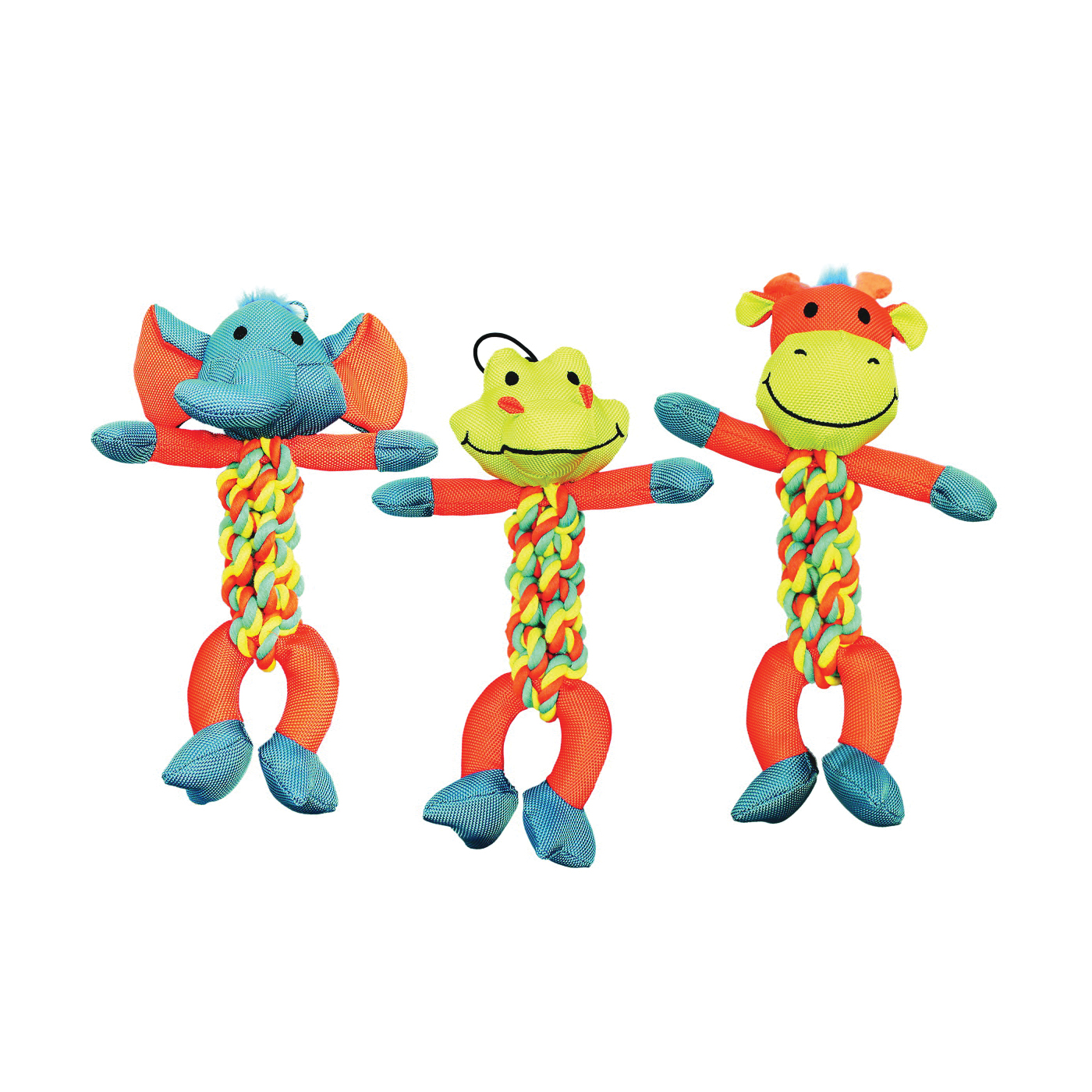 Picture of Chomper WB15636 Dog Toy, Braided Rope Toy