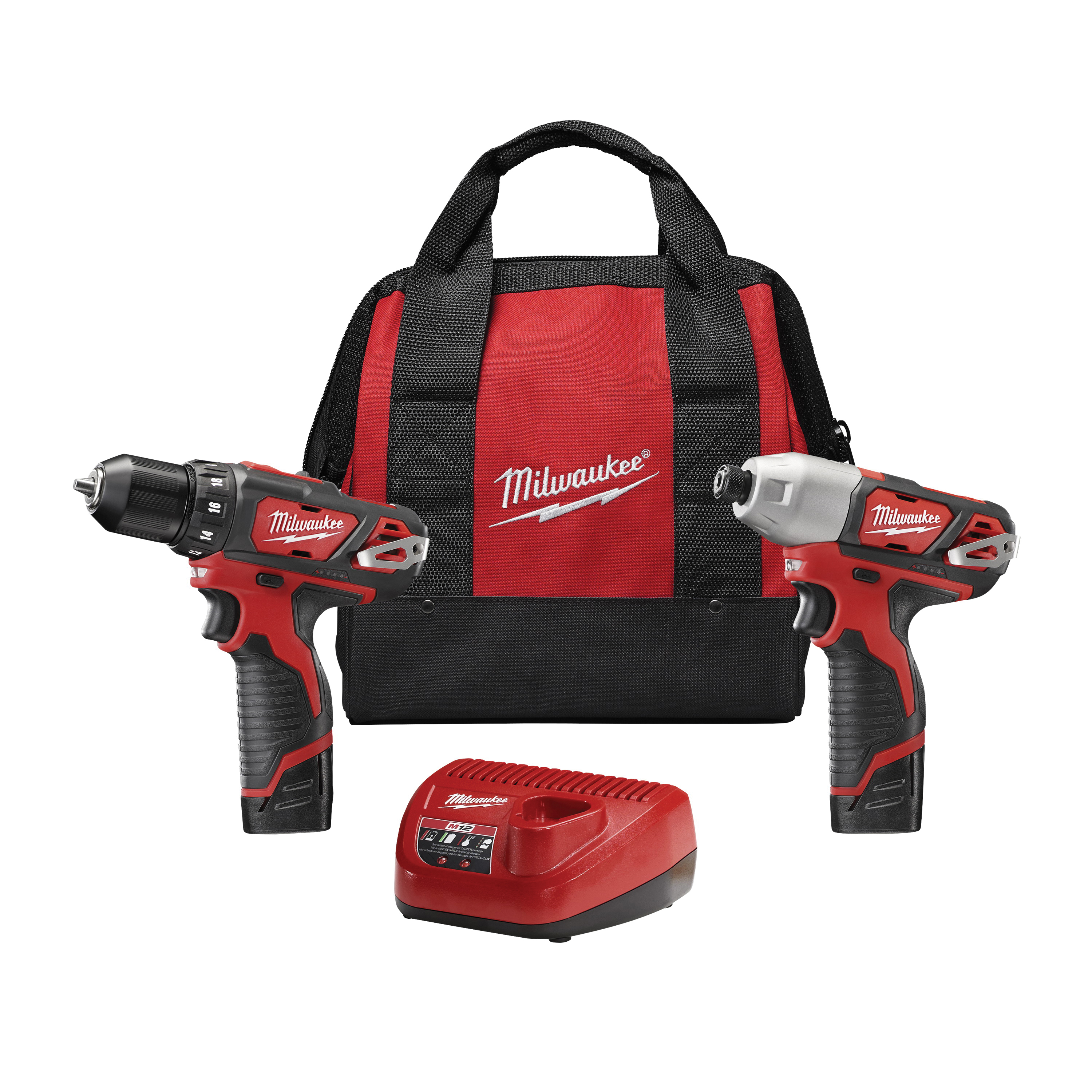 Picture of Milwaukee 2494-22 Two-Tool Combo Kit, Battery Included: Yes