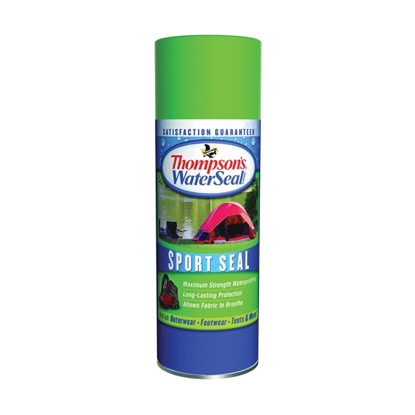 Picture of Thompson's WaterSeal Sport Seal TH.010501-18 Fabric Protector, Clear, 11.5 oz, Aerosol Can