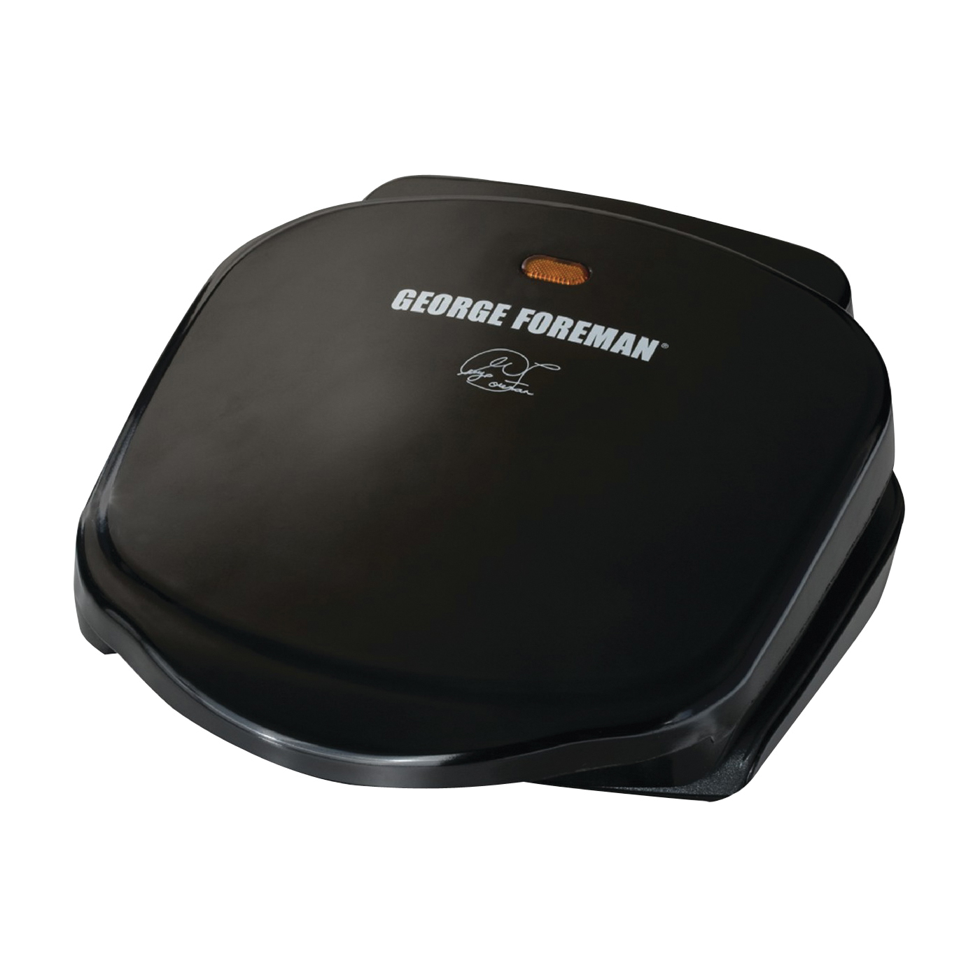Picture of George Foreman GR10B Plate Grill, 18 in W Cooking Surface, 18 in D Cooking Surface, 760 W, 120 V, Black