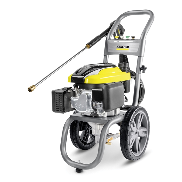 Picture of Karcher 1.107-383.0 Pressure Washer, Gas, Karcher KPS Engine, 196 cc Engine Displacement, Axial Cam Pump, 2.4 gpm