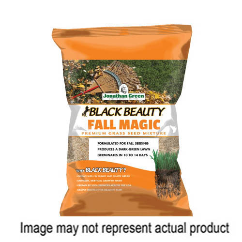 Picture of Jonathan Green Black Beauty 10770 Grass Seed, 25 lb Package, Bag